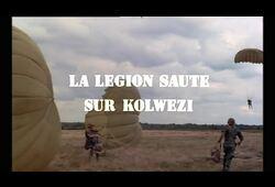 bande annonce de La légion saute sur Kolwezi