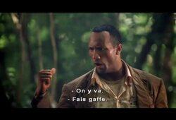 bande annonce de Bienvenue dans la jungle
