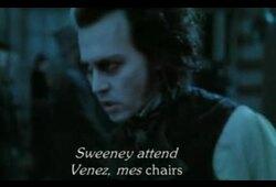 bande annonce de Sweeney Todd, le diabolique barbier de Fleet Street