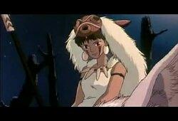bande annonce de Princesse Mononoké