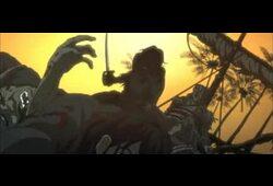 bande annonce de Watchmen, Les contes du Vaisseau Noir