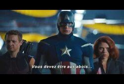 bande annonce de Avengers