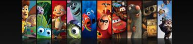 Mon top de Pixar