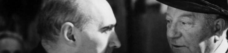 Gilles Grangier & Jean Gabin
