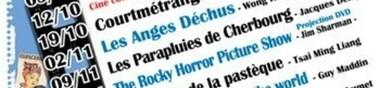 Programmation du 1er semestre 2010-2011 de Cinémaniacs