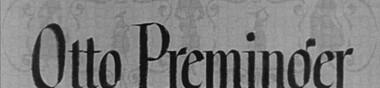 Otto Preminger & Dana Andrews