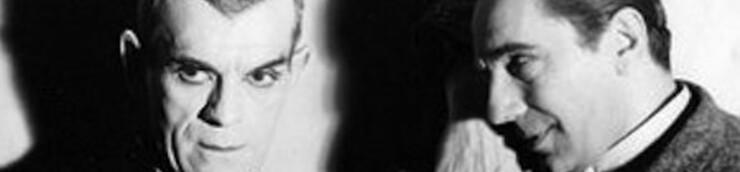 Béla Lugosi & Boris Karloff