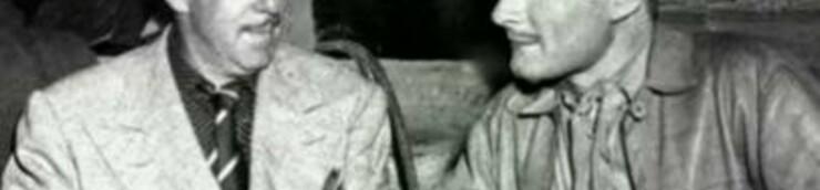 Raoul Walsh & Errol Flynn