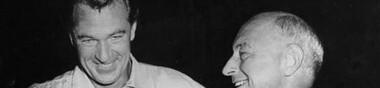Cecil B. DeMille & Gary Cooper