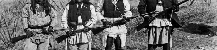 Le Western, ses peuples : les Apaches