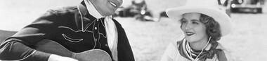 "Le Western chantant, le ""Singing Cowboy"""