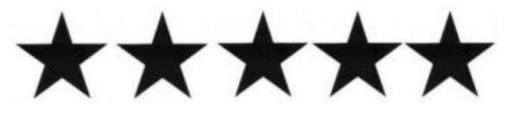 Bienvenue dans mon cinq étoiles.