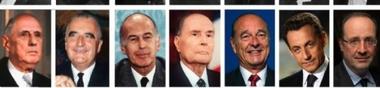 Les présidents français au cinéma et à la télévision