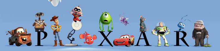 Les films d'animation Pixar