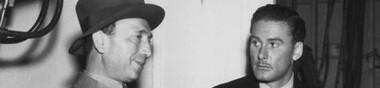 Michael Curtiz & Errol Flynn