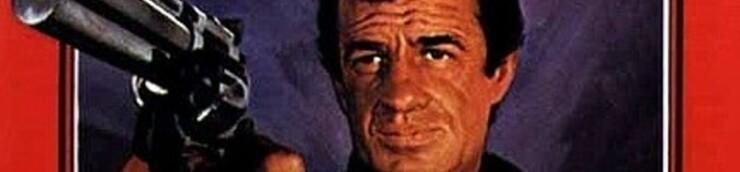 Affiches sur lesquelles Belmondo tient une arme